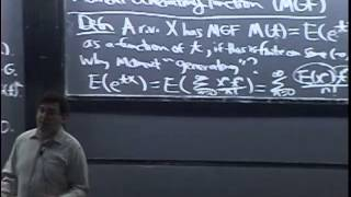Lecture 17: Moment Generating Functions | Statistics 110