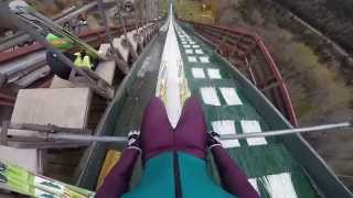 Lake Placid (NY) United States  City new picture : GoPro Ski Jumping in Lake Placid, NY, USA