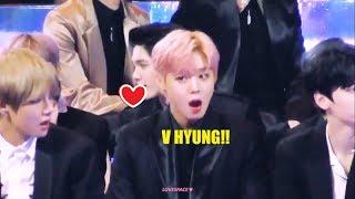 Everybody loves V Taehyung part 20 [Jihoon, Taemin, Iris (AHL), Bangtan, fanboy]
