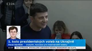 První kolo prezidentských voleb na Ukrajině