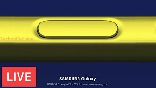 Samsung Galaxy Note 9 Launch Event 2018 - Live Stream