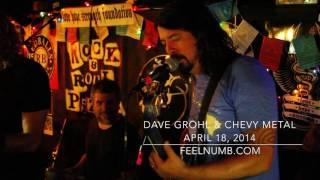 Dave Grohl being Gay for Taylor Hawkins - Foo Fighters, Chevy Metal