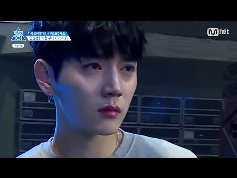 [CUT] PRODUCE101 SEASON2 EP3: Ren cries (видео)