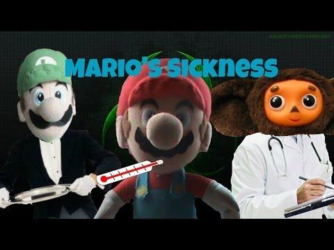The Super Plush Mario Bros - Mario's Sickness