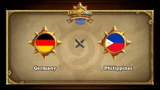GER vs PHL, game 1