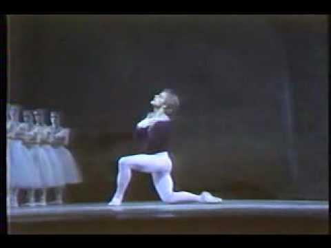Михаил Барышников в «Жизели», 1977г.