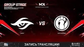 Secret vs Invictus Gaming, MDL Changsha Major, game 1 [Autodestruction]