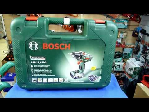 Bosch PSR 14.4 LI-2 Обзор