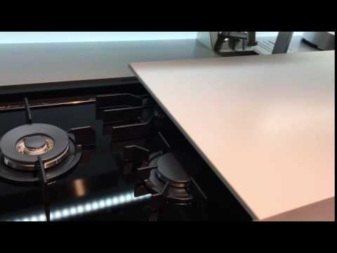 Sliding Cooktop Cover