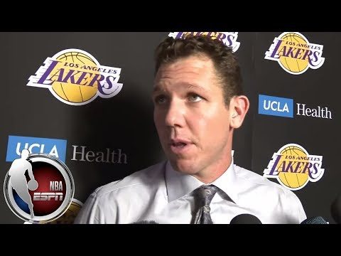 Video: Luke Walton on LeBron's minutes after Lakers' loss to Spurs | NBA on ESPN