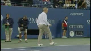 Video Novak Djokovic and John McEnroe having a hit MP3, 3GP, MP4, WEBM, AVI, FLV Juni 2018