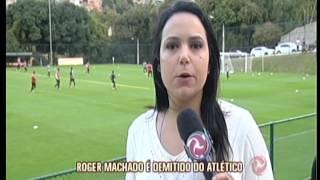 Poucas horas depois da derrota por dois a zero para o Bahia, o ex-comandante alvinegro foi dispensado pela diretoria do clube.