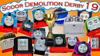 Video Sodor Demolition Derby 19 | Thomas and Friends Trackmaster | Strongest Engine MP3, 3GP, MP4, WEBM, AVI, FLV Juni 2019