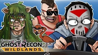 """Check out Ghost Recon Wildlands here : - http://ubi.li/qcjqzSponsored by UbisoftFriends in this video -Vanoss - http://bit.ly/LUf7avMoo Snuckel - http://bit.ly/11rO5IEWildcat - http://bit.ly/11oQ2GFWant some Delirious Loot? http://h2odelirious.spreadshirt.comMy Facebook: http://on.fb.me/1wjyGOdMy Twitter: https://twitter.com/H2ODeliriousGaming system from CyberPowerPC - Save 5% with code """"H2O"""" on orders over $1,299. http://goo.gl/HmUPE0Outtro song: By SpacemanChaos!https://www.youtube.com/user/MrTOOCHIEF https://twitter.com/SPACEMANCHAOS https://itunes.apple.com/us/artist/the-spaceman-chaos/id904688257"""