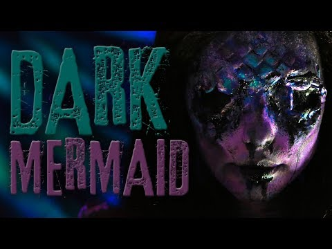 Dark Mermaid Makeup Tutorial