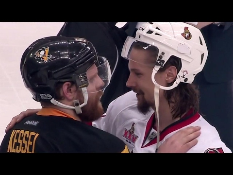 Video: T&S: The class of Erik Karlsson on full display during handshake line