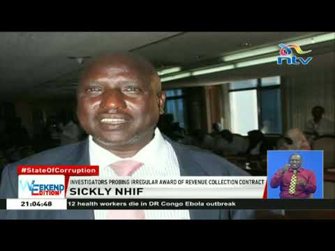 Former NHIF CEO, Simeone ole Kirgotty, arrested over ksh 1.5b scam