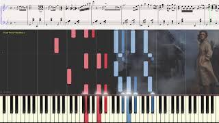 Сиреневый туман (Джаз вариация) (Ноты и Видеоурок для фортепиано) (piano cover)