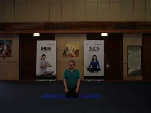 Video: Indian ambassador practices Yoga to spread awareness on International Day of Yoga