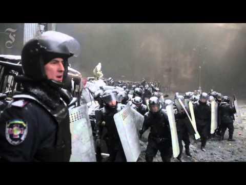 Украина Майдан 2014 - редкие кадры (часть-3) - DomaVideo.Ru