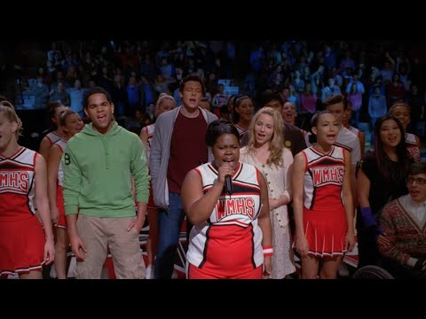 GLEE - Beautiful (Full Performance) + Speech HD