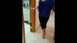 Video So you think you can walk in  your new high heel shoes MP3, 3GP, MP4, WEBM, AVI, FLV Juni 2018