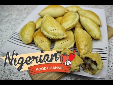 How To Make Nigerian Meat Pie | Nigerian Food Recipes | African Food