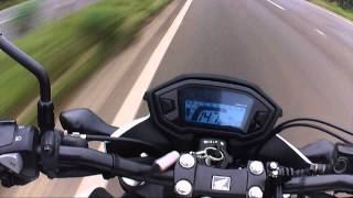 2. CB500F - Top speed