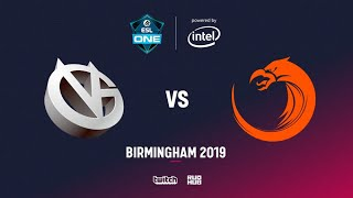 Vici Gaming vs TNC, ESL One Birmingham, bo2, game 1 [Adekvat & Mortalles]