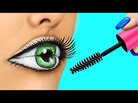 Easy Halloween Makeup Tutorial Compilation / Weird Makeup Ideas / Body Paint Illusions