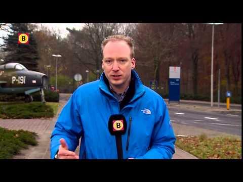 Konvooi wrakstukken MH17 onderweg naar luchtmachtbasis Gilze-Rijen