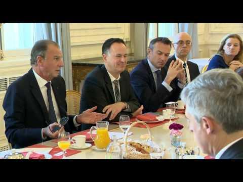 Club de l'Eco de Monaco au Ministère d'Etat