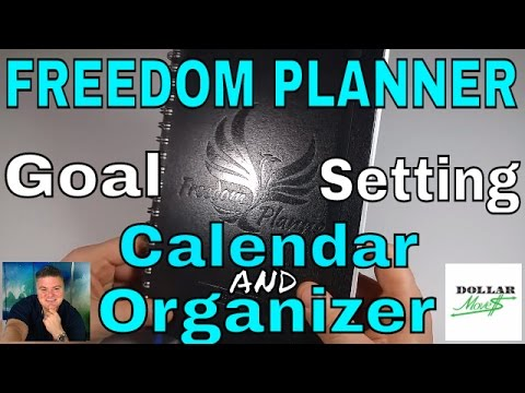 Freedom Planner! Full Year Goal Oriented Organizer and Time Management Tool!