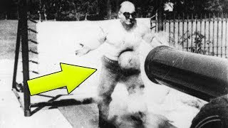 Video THE ONLY MAN WHO WAS ABLE TO SURVIVE A CANNONBALL SHOT MP3, 3GP, MP4, WEBM, AVI, FLV Desember 2018