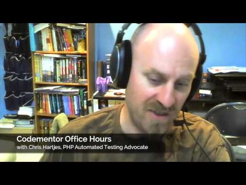 """Testing is dead, now what?"" – Codementor PHP Automated Testing Office Hours with Chris Hartjes"