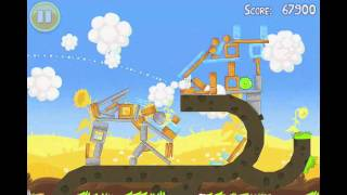 Angry Birds Seasons Summer Pignic Level 12 Walkthrough 3 Star