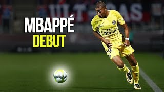 OMG! This is what Kylian Mbappé did in his first game for PSG  HD (Metz vs PSG)