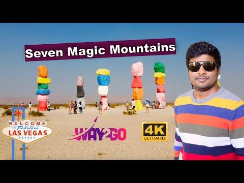 அமெரிக்க பாலைவனத்தில் | Seven magic Mountains | Las vegas Episode 6 | way2go