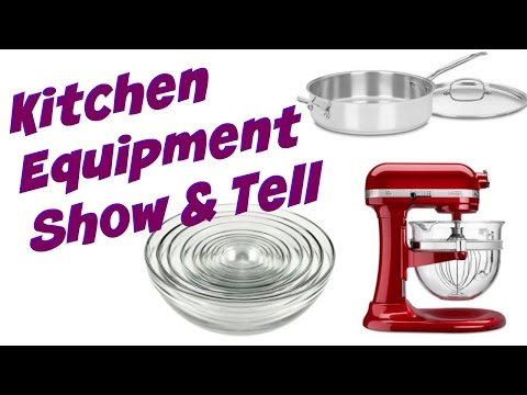 Kitchen Equipment & Tools Show & Tell | Cooking With Carolyn