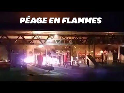 "Video - ""Δεν πληρώνω"" και στη Γαλλία - Τα ""κίτρινα γιλέκα"" καίνε τα διόδια - ΦΩΤΟ - ΒΙΝΤΕΟ"