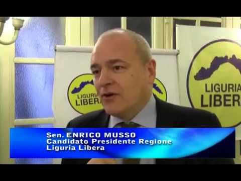 REGIONALI 2015: ENRICO MUSSO SU PROBLEMATICHE LIGURI