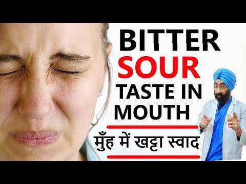 Top 5 Reasons for Bitter Sour Taste in Mouth | मुँह में खट्टा स्वाद | Dr.Education (Hindi + Eng)