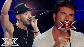 Video SHOCKINGLY OFFENSIVE AUDITIONS Have Simon Cowell In A Rage! | ANGRY JUDGES | X Factor Global MP3, 3GP, MP4, WEBM, AVI, FLV Juli 2019