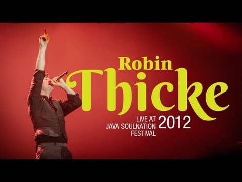 "Robin Thicke ""Love After War"" live at Java Soulnation 2012"