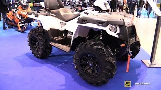 10. 2016 Polaris Sportsman 570 Touring EPS Recreational ATV - Walkaround - 2015 EICMA Milan