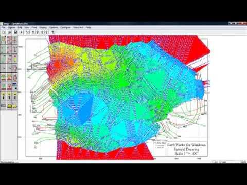 Earthworks Software Demonstration
