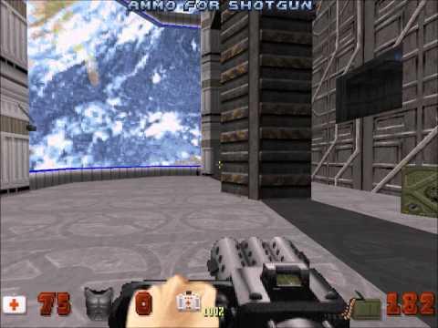 preview-Let\'s Play Duke Nukem 3D! - 007 - Lunar Apocalypse - Stage 1: Space Port (ctye85)