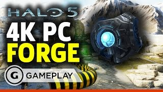 Halo 5 Forge Gameplay in 4K on PC by GameSpot