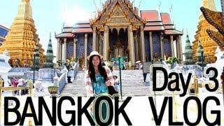 BANGKOK 2013 TRAVEL VLOG: Day 3 (Ferry To Temples + Malls) | Makeupbykarlamisa