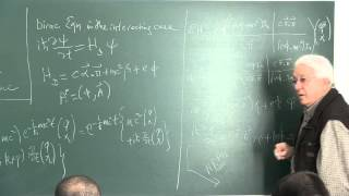 METU - Quantum Mechanics II - Week 11 - Lecture 1